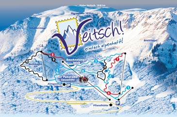 Ski Resort Veitsch - Brunnalm