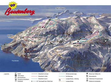 Ski Resort Beatenberg - Niederhorn