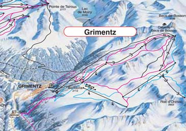 Ski Resort Grimentz