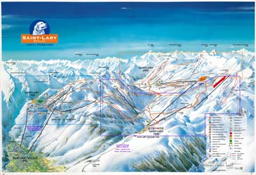 Ski Resort Saint Lary Soulan