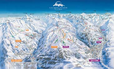 ski resort Valloire - Galibier Thabor