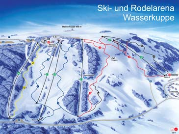Ski Resort Wasserkuppe