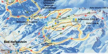 Ski Resort Bad Hofgastein - Ski Amade