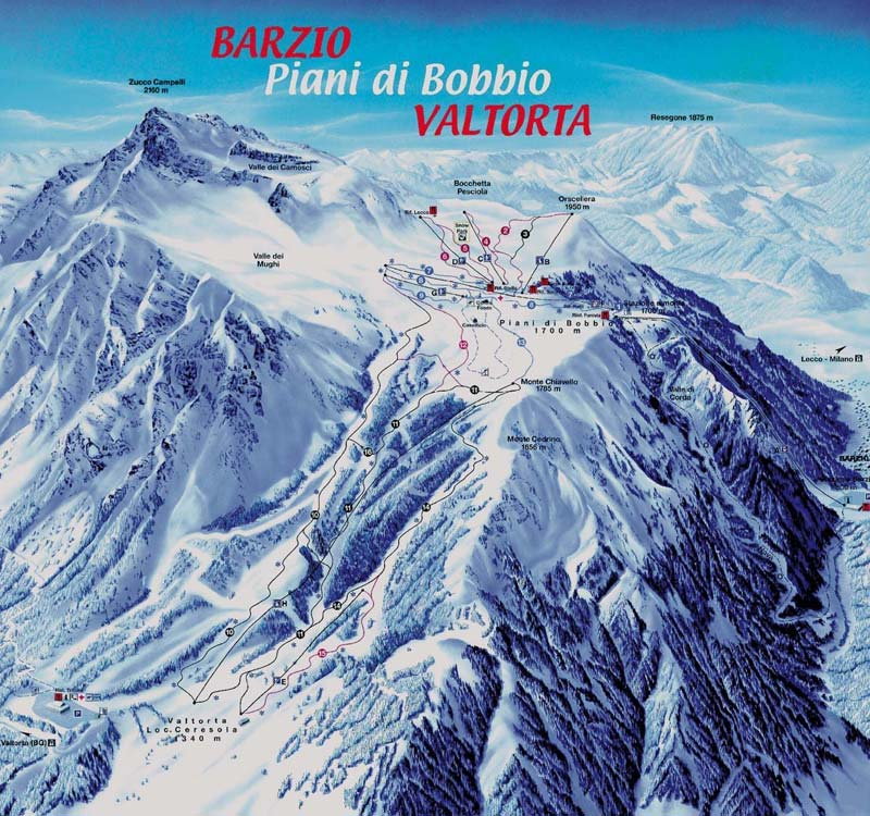 Barzio ski resort winter sports skiing for Trova i miei piani di casa online
