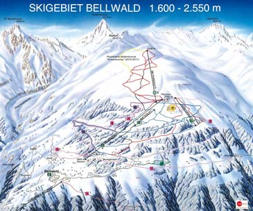 Ski Resort Bellwald