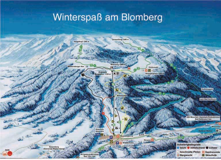 Blomberg Bad T 246 Lz Ski Resort Winter Holiday Winter