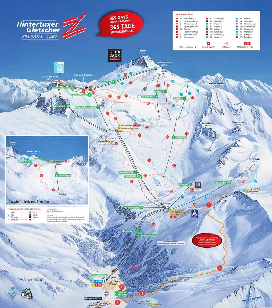 Hintertux Glacier Austria  city photos gallery : Hintertux Glacier Ski Resort Winter Sports Skiing