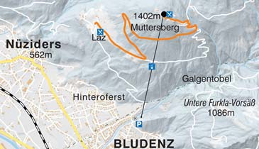 Ski Resort Muttersberg - Bludenz