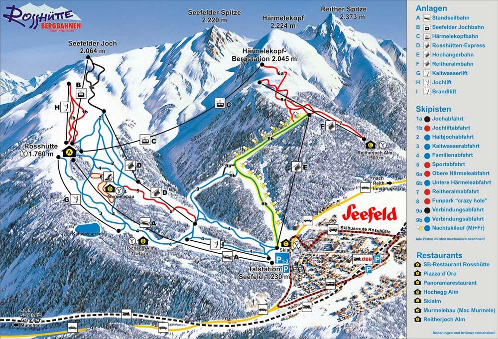 Rossh 252 Tte Seefeld Ski Resort Winter Sports Skiing