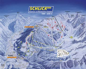 Ski Resort Schlick 2000