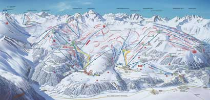 Ski Resort Serfaus - Fiss - Ladis