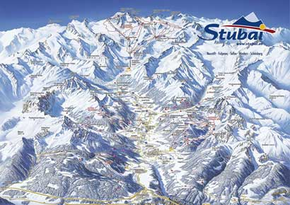 Ski Resort 11er Lifte Neustift