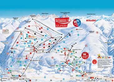 Ski Resort Wildkogel - Neukirchen Bramberg